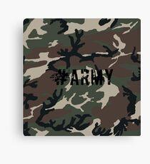 #Army Canvas Print