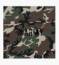 #Army Photographic Print