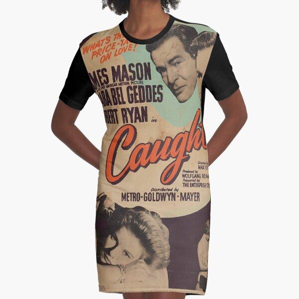 Caught  Graphic T-Shirt Dress