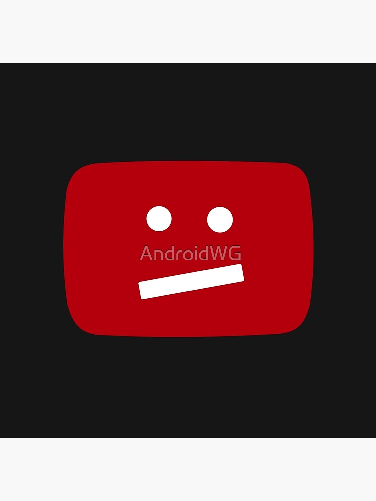 YouTube :/ Face Logo by AndroidWG