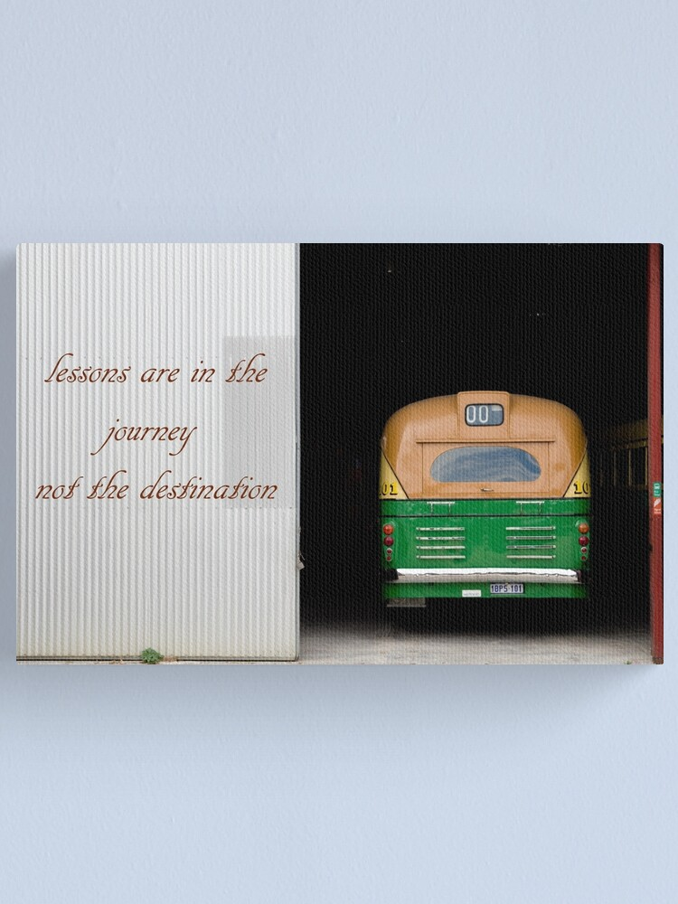 Alternate view of Destination 1 Canvas Print