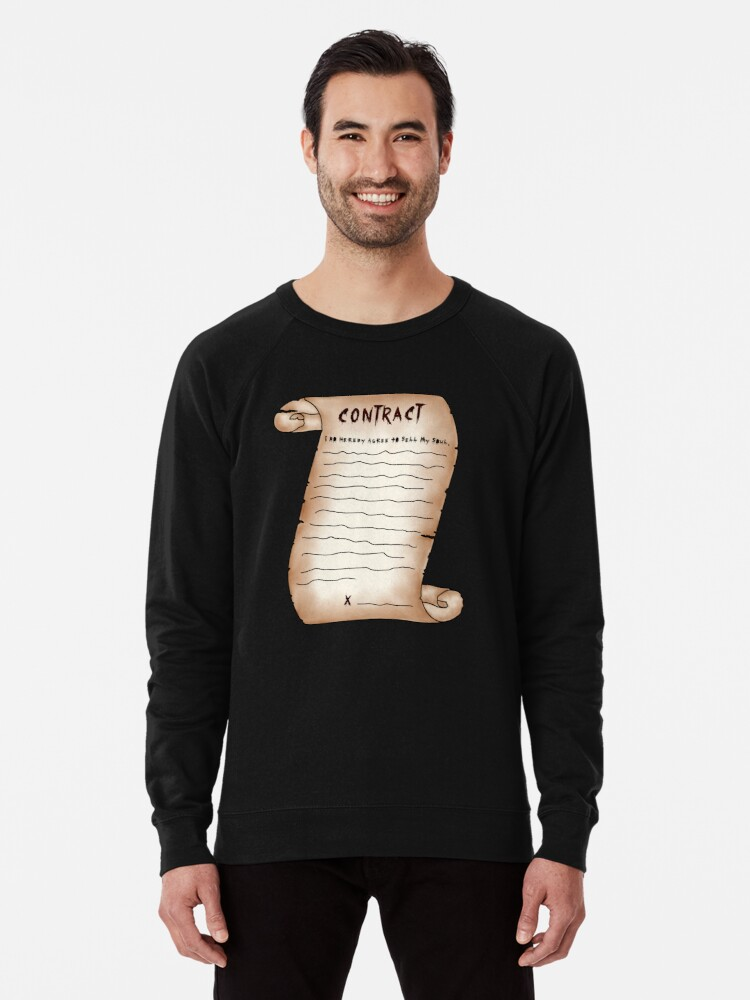 'Deal With the Devil' Lightweight Sweatshirt by Femnar