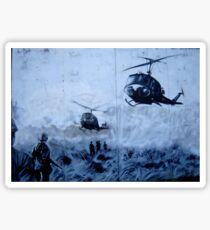 Vietnam War Choppers Sticker
