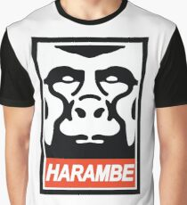 Obey Harambe Graphic T-Shirt