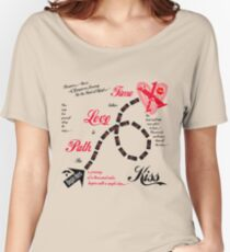 The Path to Love takes Time Women's Relaxed Fit T-Shirt