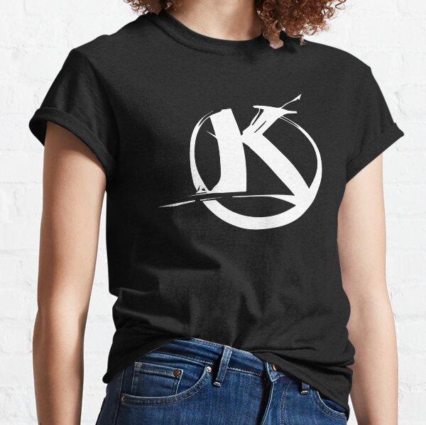 Logo Kaamelott Blanc/Noir  T-shirt classique