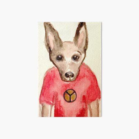 Ziggy the Dog Art Board Print