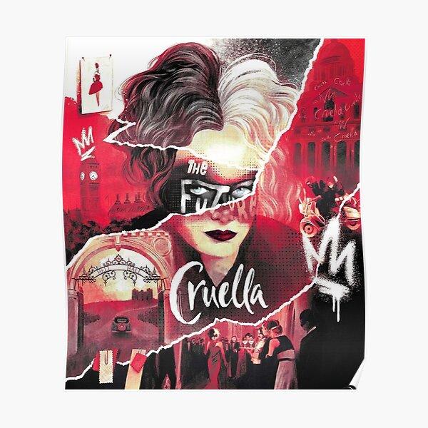 Cruella De Vil Art Design  Poster
