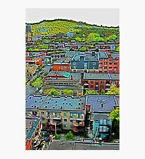 Montreal Suburb (vertical) Photographic Print