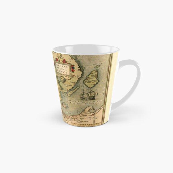 Map Of Denmark 1572 Tall Mug