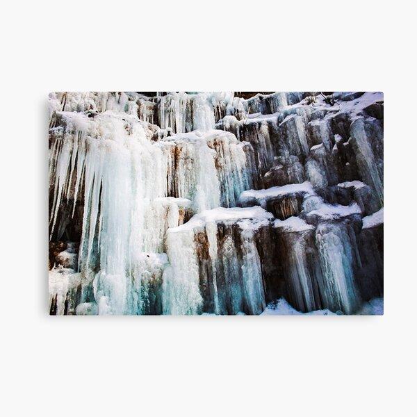 Icicle Castle - Photography Print  Canvas Print