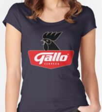 cerveza Women's Fitted Scoop T-Shirt