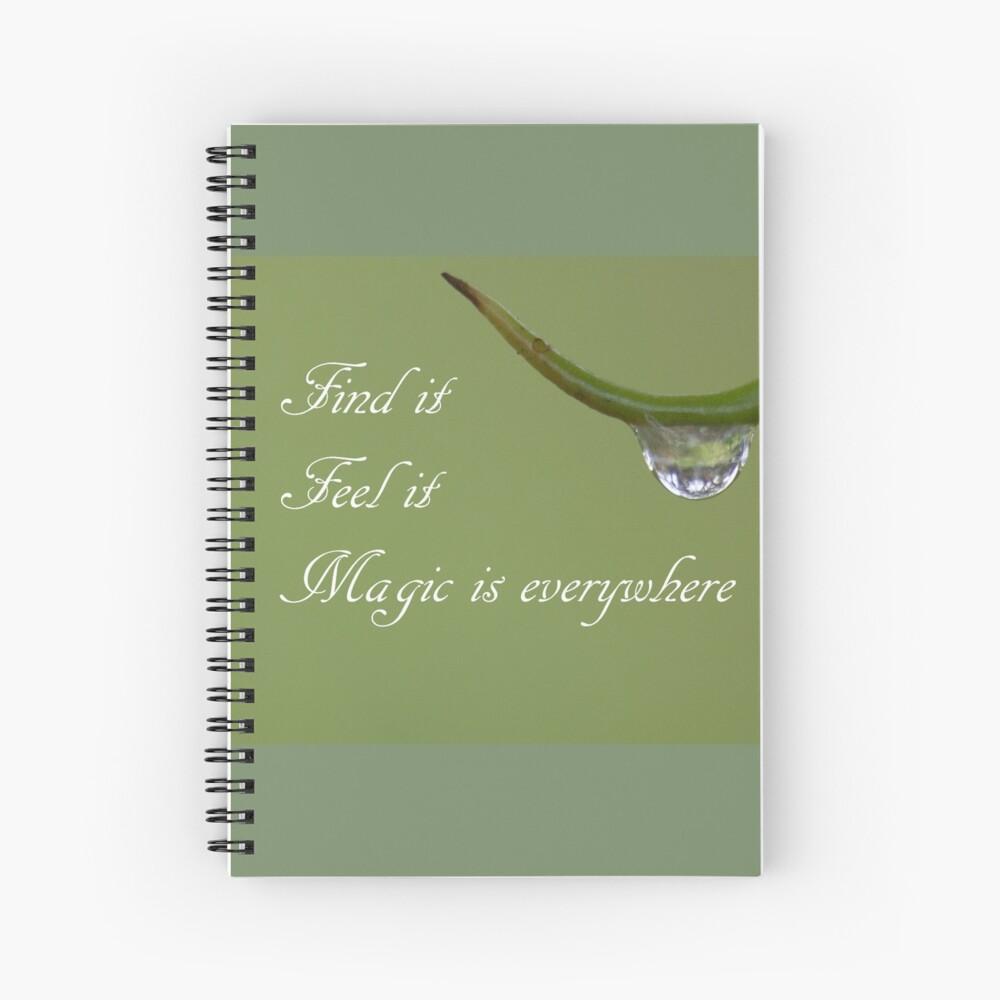 magic I Spiral Notebook