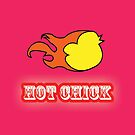 """""""Hot Chick"""" Apparel  by AxtInk"""