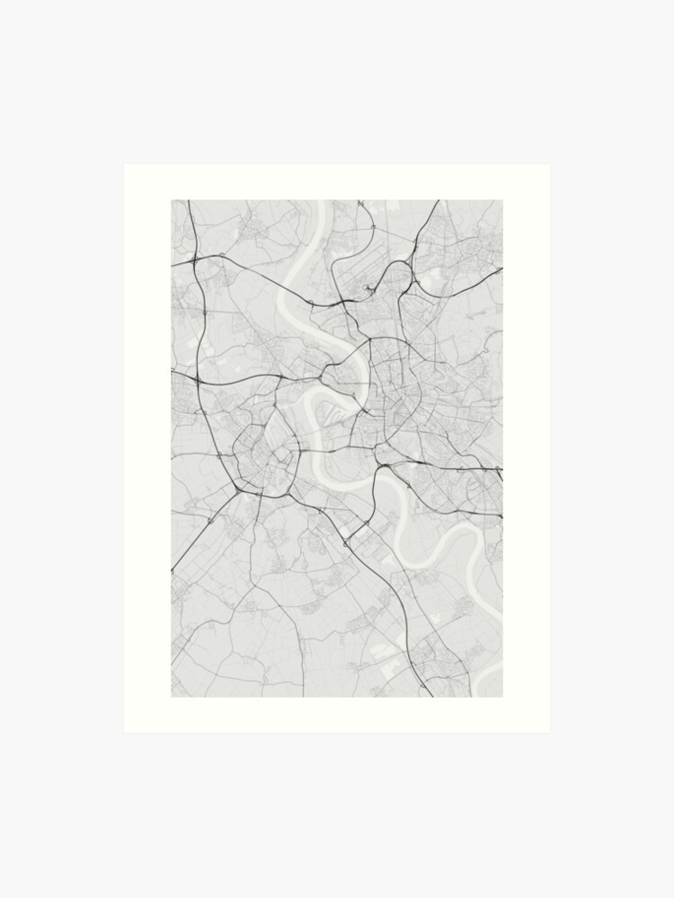 Dusseldorf Germany Map on