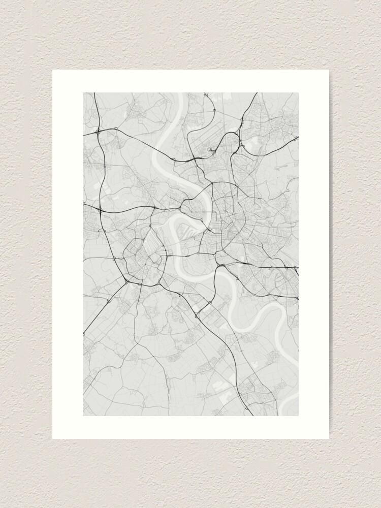 Dusseldorf, Germany Map. (Black on white) | Art Print on prague czech republic on map, hannover germany map, mayence germany map, dresden germany map, blankenheim germany map, erfurt germany map, bremen germany map, geilenkirchen germany map, rome germany map, donaueschingen germany map, belfast germany map, cologne germany map, berlin germany map, split germany map, duisburg map, saxony germany map, krefeld germany map, stuttgart germany map, bonn germany map, hamburg germany map,