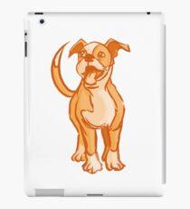 Orange Pup iPad Case/Skin