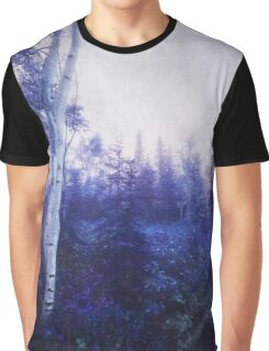 Wander trough the foggy forest Graphic T-Shirt