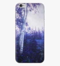 Wander trough the foggy forest iPhone Case