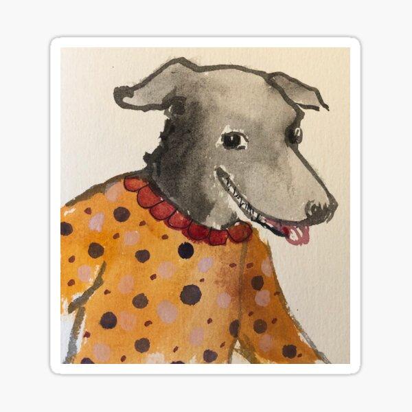 Mamma Mia the Dog Sticker
