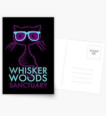 Whisker Woods Sanctuary Postcards