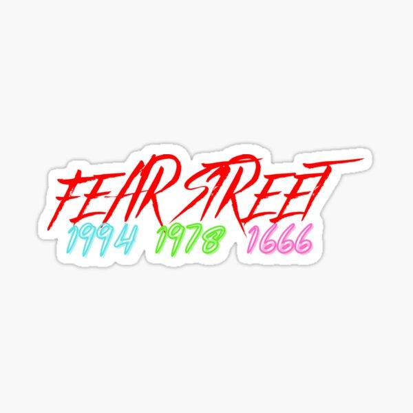 Fear Street-part one,two,three Sticker