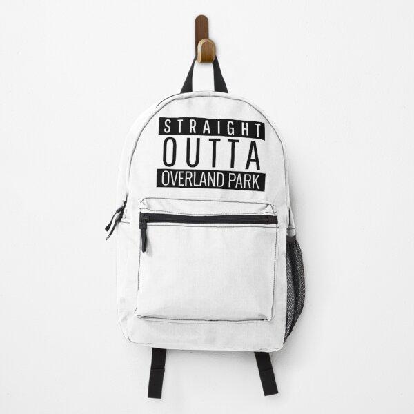 Straight Outta Overland Park Kansas  Backpack