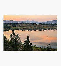 Methow Valley Sunset Photographic Print