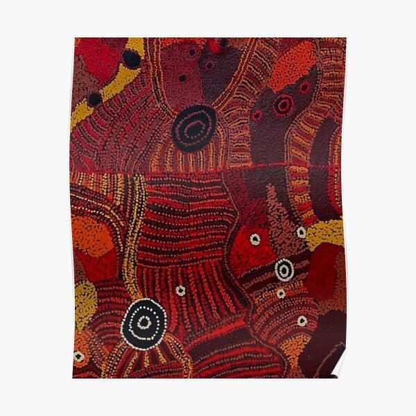 australian aboriginal art 7 Poster