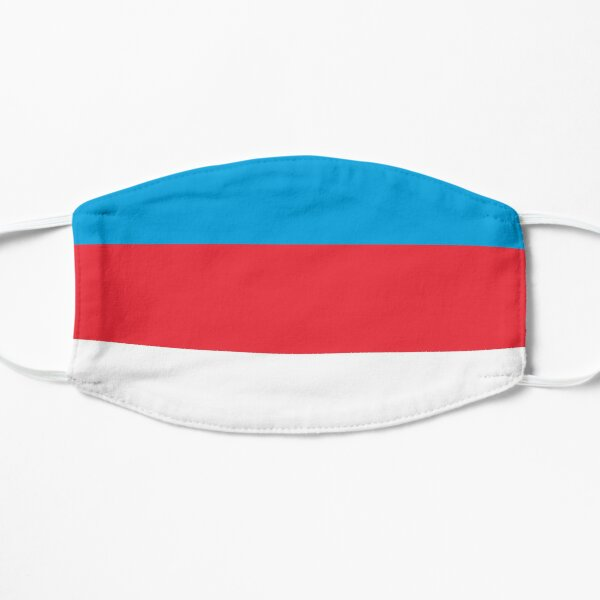 Flag of Luxembourg Flat Mask