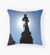 At the going down of the sun Throw Pillow