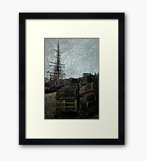 Pots, Masts & Rigging Framed Print
