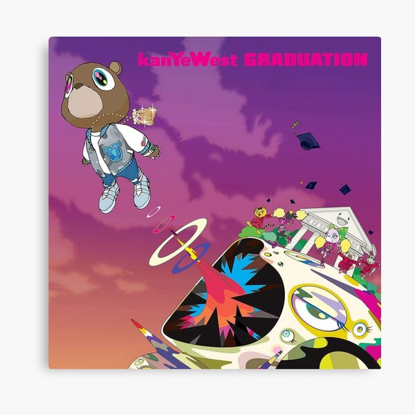 Kanye West, Graduation (2007) Canvas Print