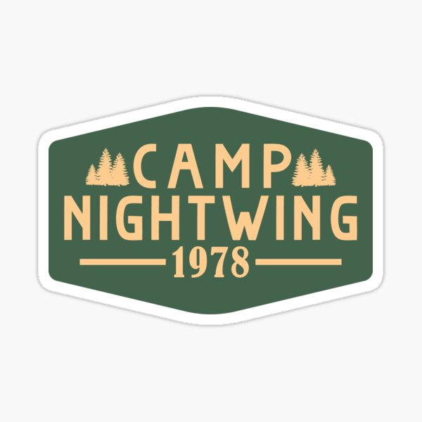 Camp Nightwing 1978 Sticker