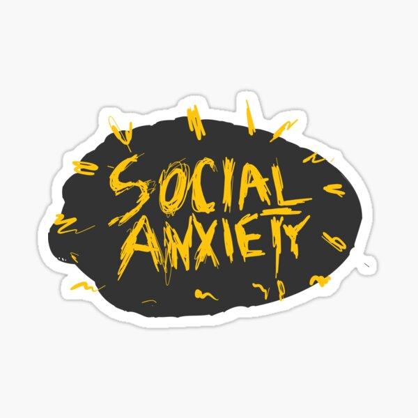 Social Anxiety Terror Sticker