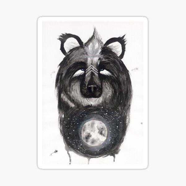 Selene the Moon Bear. Sticker