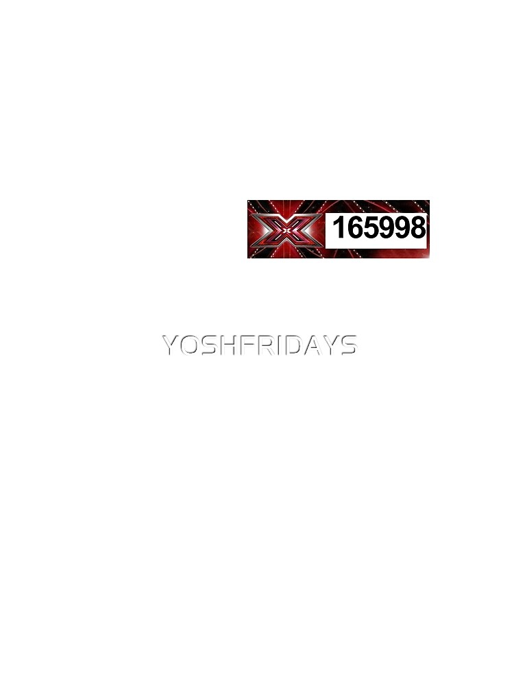 X-Factor Sticker - Harry Styles by YOSHFRIDAYS