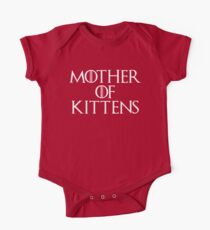 Mother Of Kittens Funny Quote One Piece - Short Sleeve