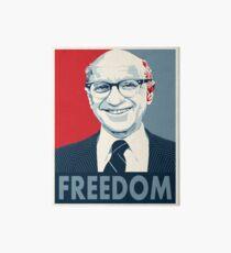 Milton Friedman Art Board