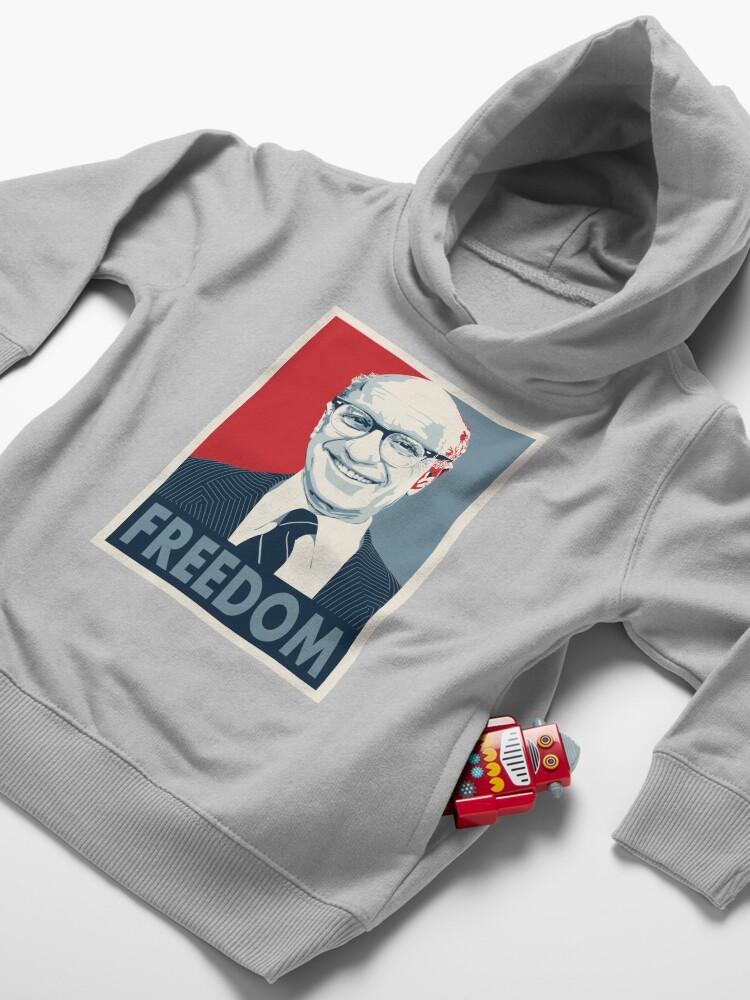 Alternative Ansicht von Milton Friedman Kleinkind Hoodie
