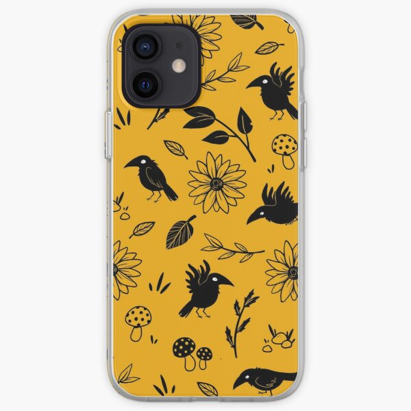 Crows and Foliage iPhone Soft Case