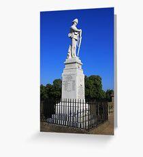 Shrewsbury Boer War Memorial Greeting Card