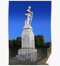 Shrewsbury Boer War Memorial Poster