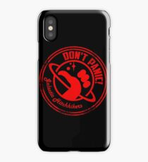 Galactic Hitchhikers Just Grate iPhone Case/Skin
