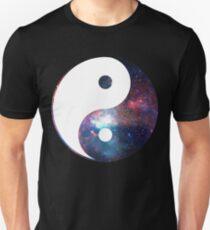 Galactic Yin Yang Unisex T-Shirt