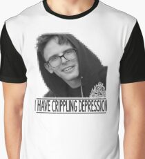 I Have Crippling Depression - IDubbbzTV Graphic T-Shirt