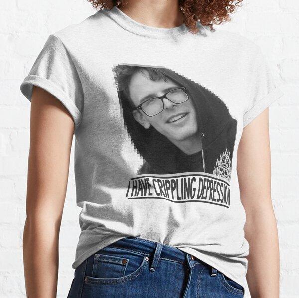 I Have Crippling Depression - IDubbbzTV Classic T-Shirt