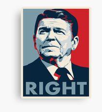 Ronald Reagan Canvas Print