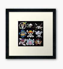 Jolly Rogers Framed Print