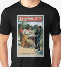 Performing Arts Posters Sporting life written by Cecil Raleigh Seymour Hicks 1011 T-Shirt